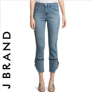 J BRAND Ruby High-Rise Cigarette Jeans Patriot 28